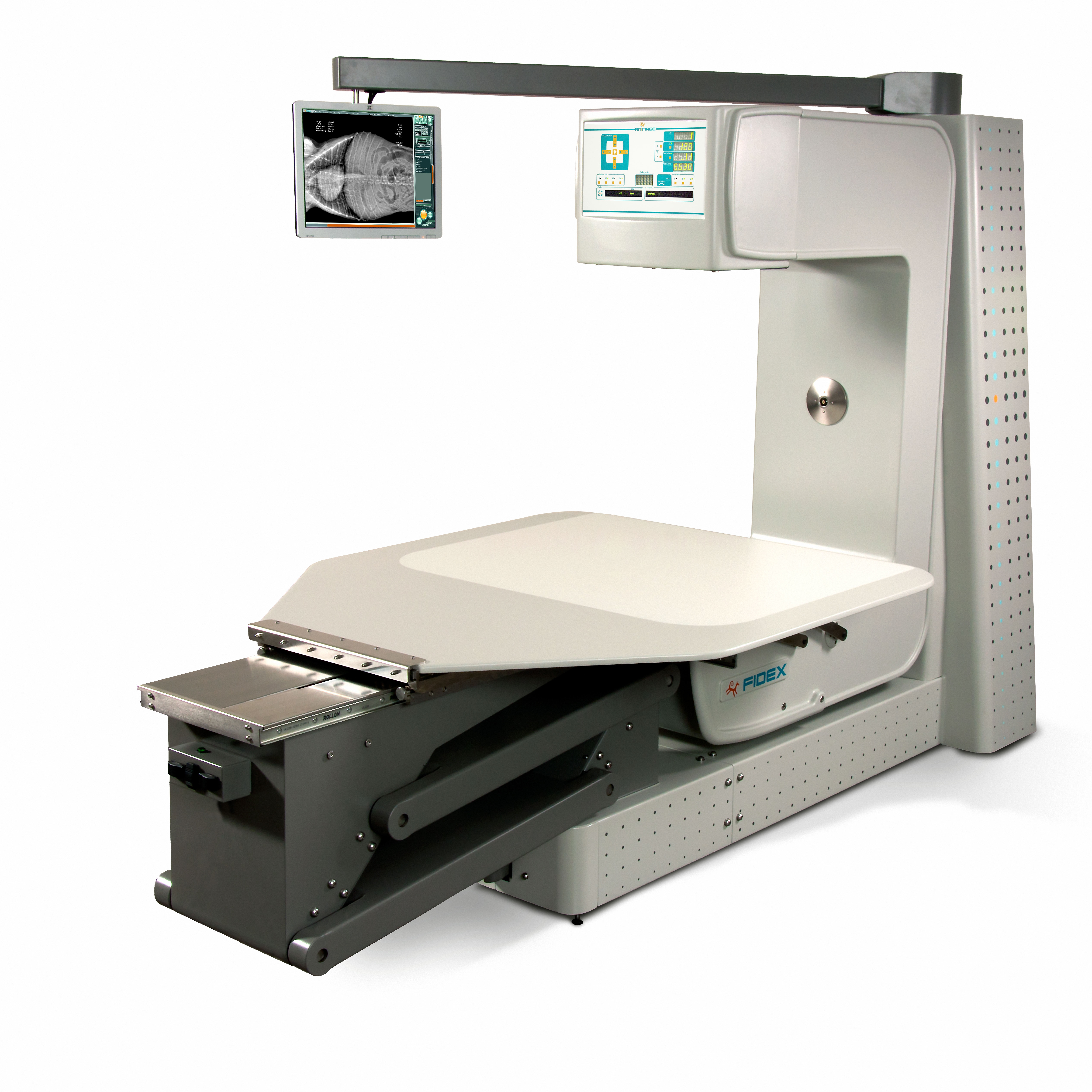 Fidex Animal CT, large panel DR and Fluoroscopy - MD